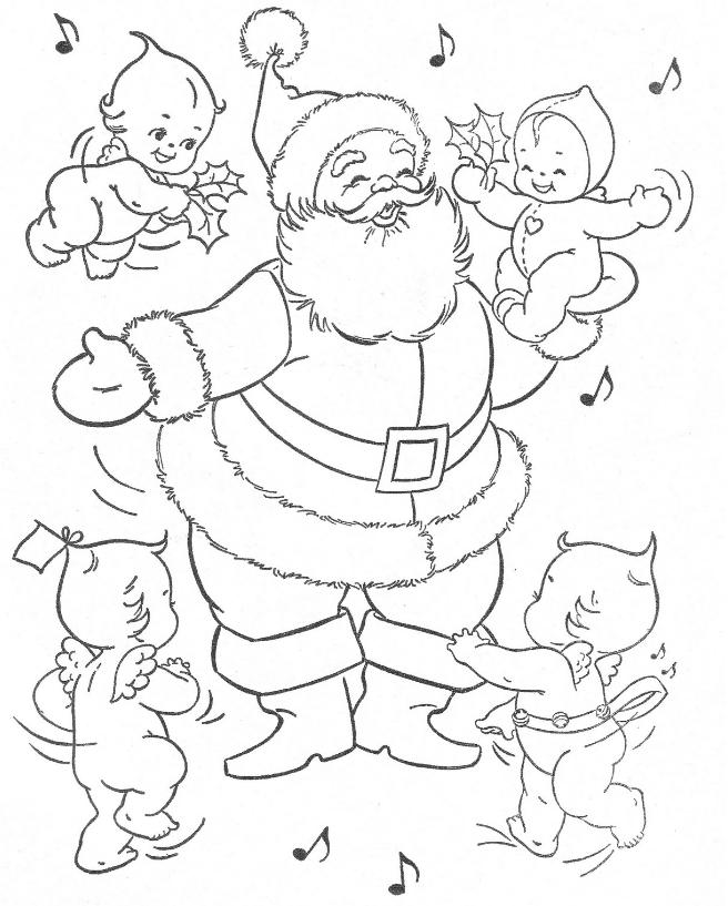 christmas vintage malbuch 1966 ⋆ download pdf free