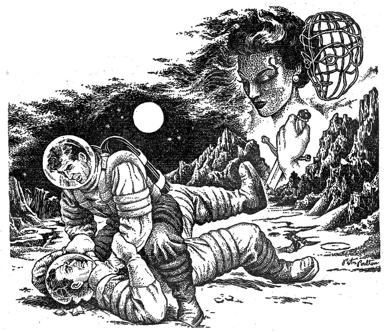 Vintage Sci Fi Illustrations Retro Science Fiction: This Vintage Science Fiction Magazine Art Is Worth Geeking