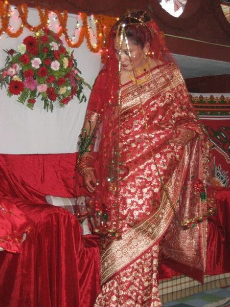 Nepali wedding sari | ☆Fashion! Vintage & Multicultural ...