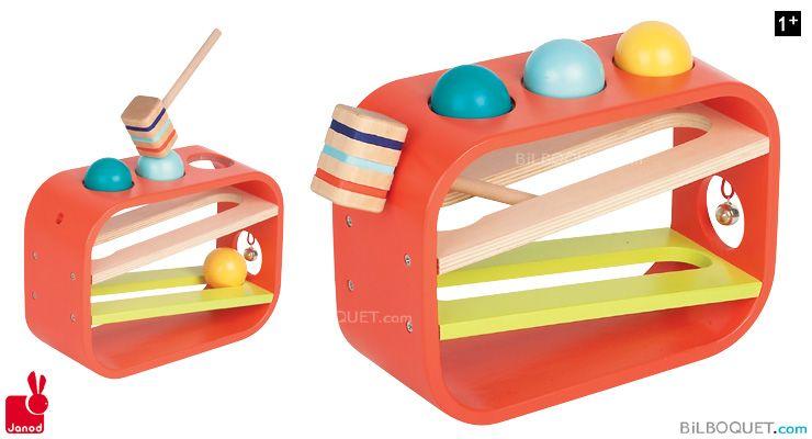 Frappaball tatoo jouet en bois janod jouets déveil janod