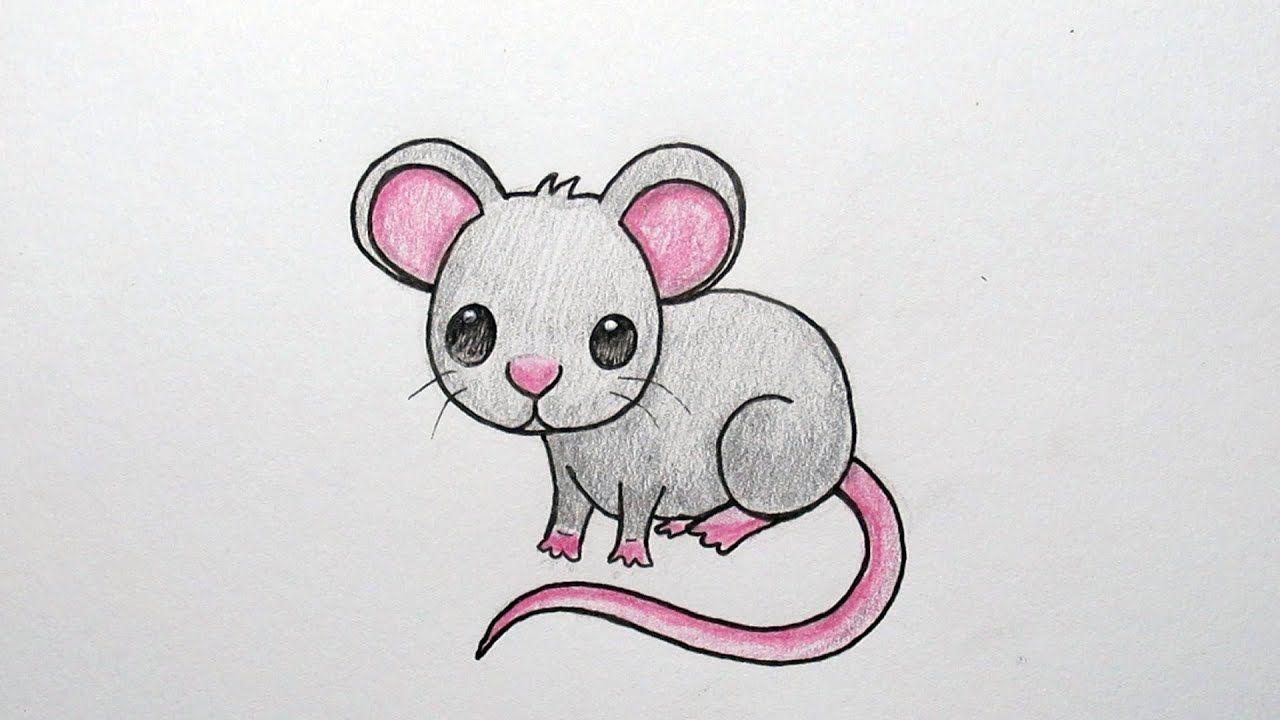 Muis Emoji Leren Tekenen In Stappen Youtube Animal Drawings Animal Tattoos Drawings
