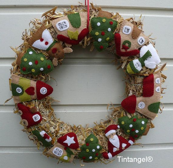 Christmas wreath diy kit without straw wreath by tintangel do it christmas wreath diy kit without straw wreath by tintangel solutioingenieria Images