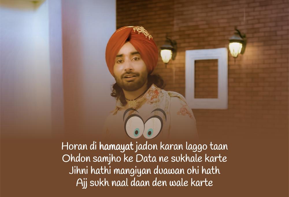 Hamayat Lyrics Satinder Sartaaj Has Sung The New Punjabi Song Hamayat The Help From The Album Seven Rivers 7 Rivers While Satinder S Lyrics Songs Seventh
