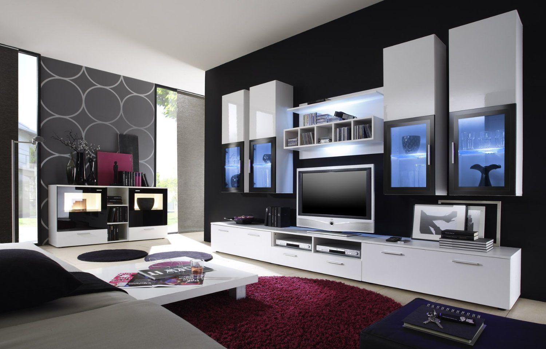 moderne möbel für wohnzimmer | Welche Wandfarbe im Wohnzimmer ...