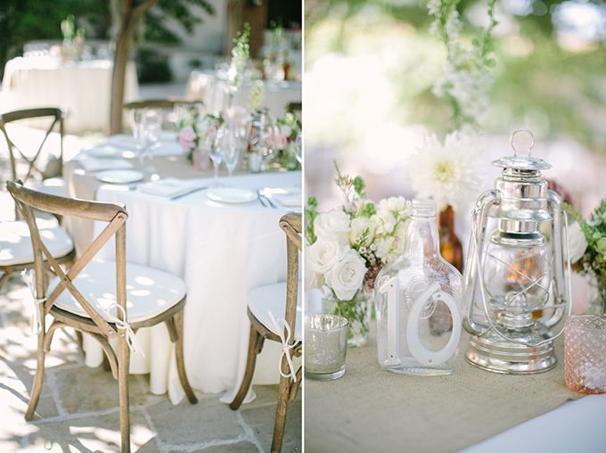 A Vintage Pink and Gray California Wedding