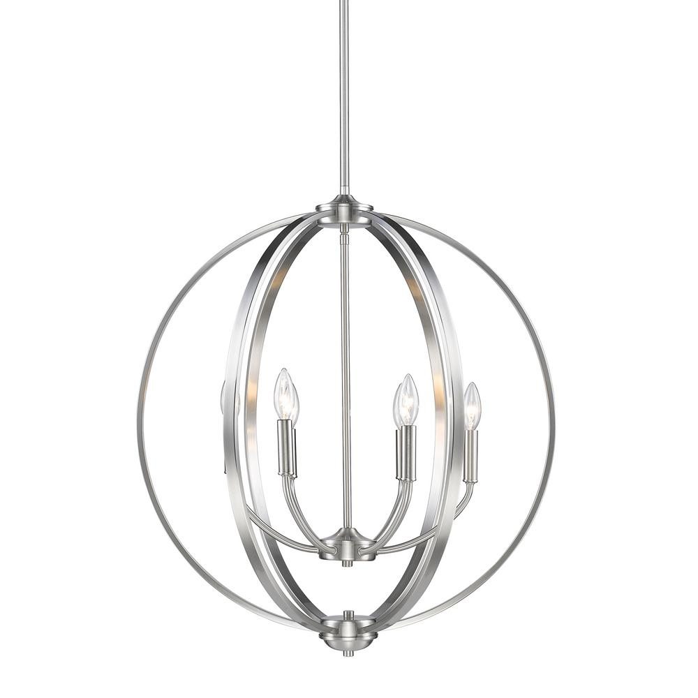 Golden lighting colson pw light pewter chandelier products