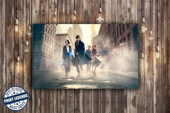 Fantastic Beasts And WherE to Find Them Movie Canvas Print - Canvas Art - Wall art