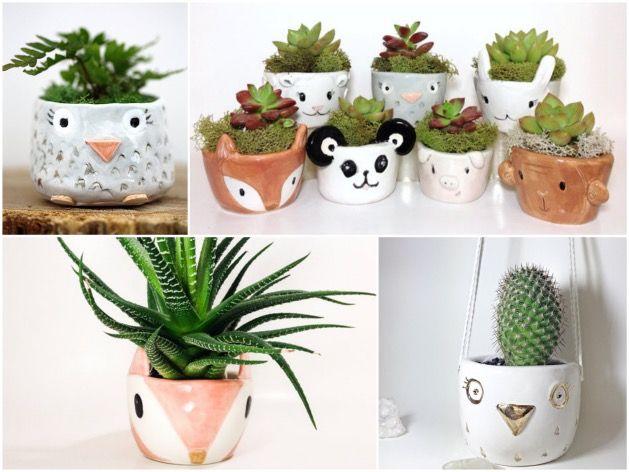 pot de fleurs animal et jardini re en forme d 39 animal poterie pinterest pots de fleurs. Black Bedroom Furniture Sets. Home Design Ideas