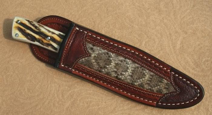 Boot Knife Sheath The Knife Network Forums Knife Making
