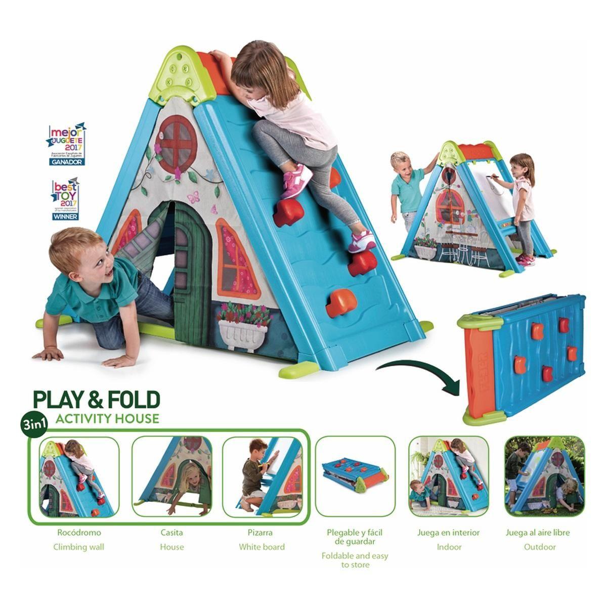 Hiša aktivnosti - Igraj & zloži - 3 v 1 | Baby Center ...