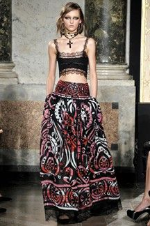 Emilio Pucci...haute gypsies seduce! Spring/Summer 2012