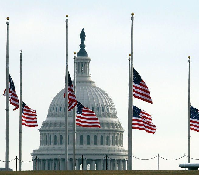 Image result for white house flags at half staff
