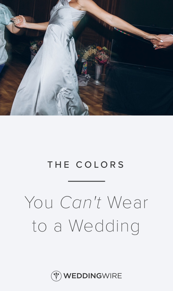 75a93fc6d34 The Colors You Can t Wear to a Wedding - Attending a wedding soon