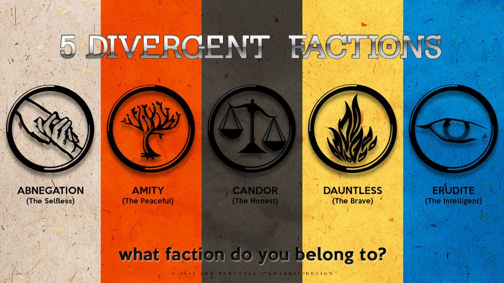 comment wich divergent fraction you would be in