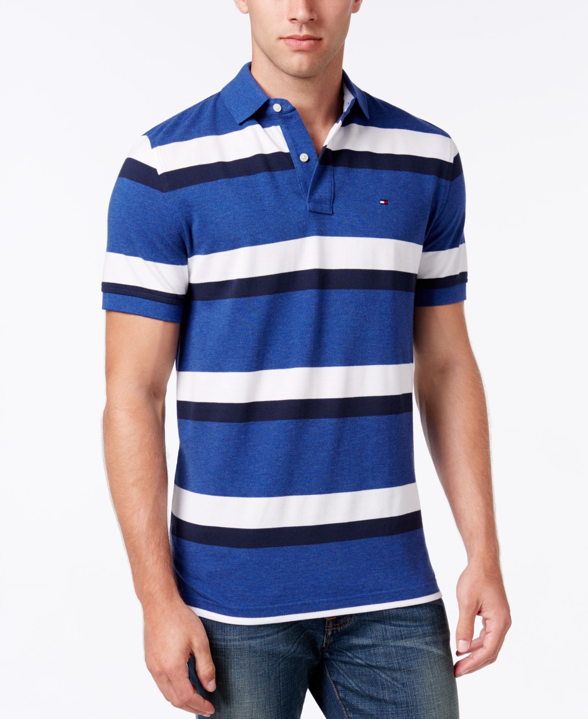 8c2ec54f8 Tommy Hilfiger Men s Ace Striped Polo