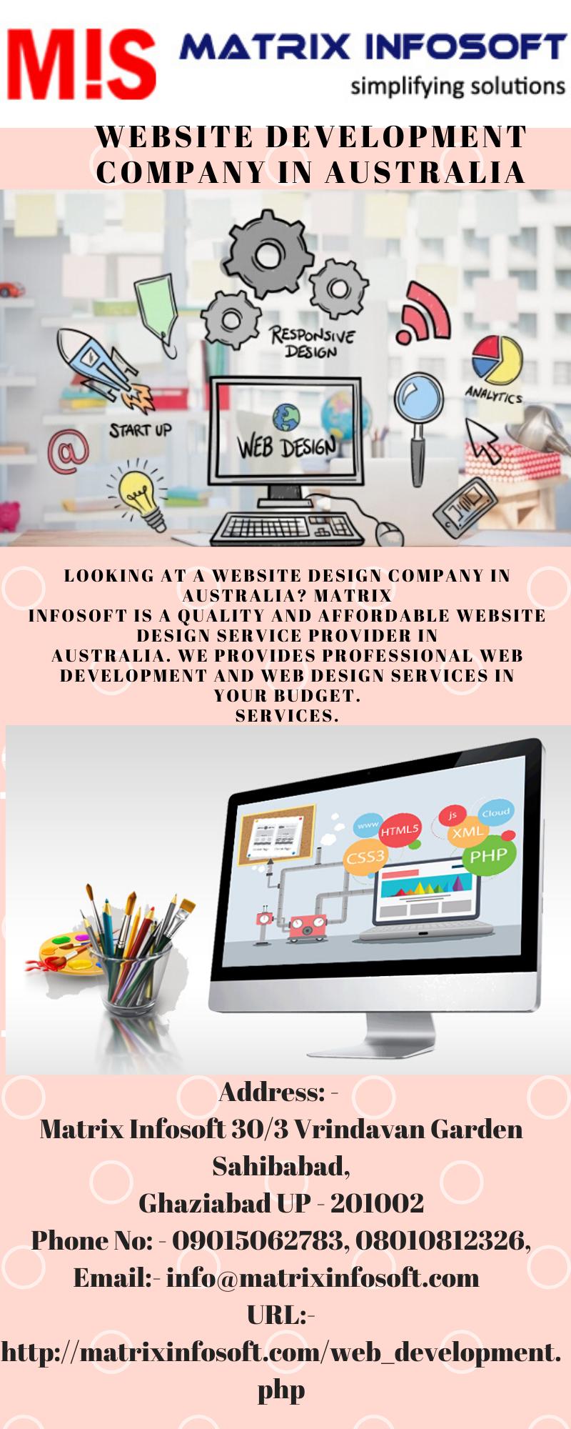 Website Development Company In Australia In 2020 Website Design Services Website Development Website Design Company