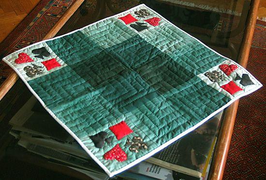 tapis de cartes tapis de carte