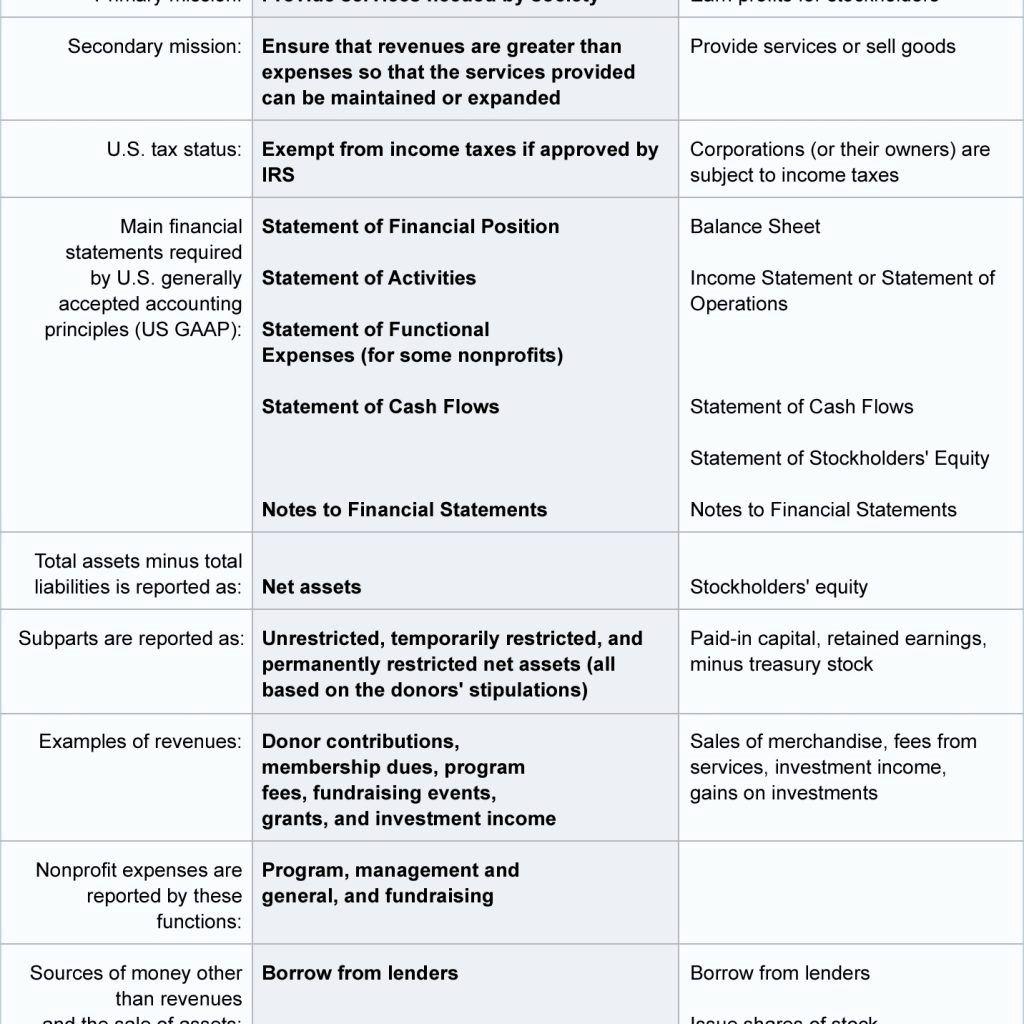 Non Profit Financial Statement Template Free S corp balance sheet template