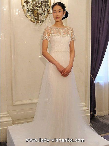 Brautkleider mit geschlossenen Schultern 2016 Foto — Marchesa ...