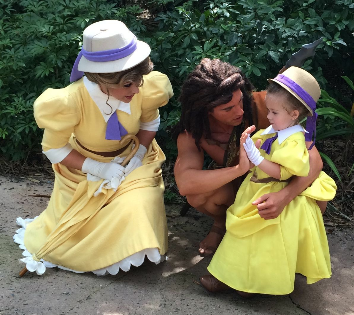 Jane Porter!! Oh my gosh they actually have Tarzan characters at Disney World?! We have to go back.