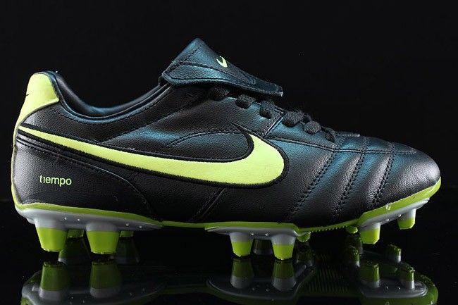 e21480119a95 Nike Air Legend II SG Soccer Cleats Black Green | Nike Mercurial ...