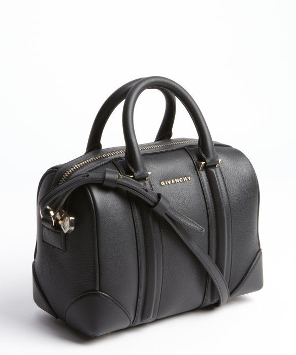 Givenchy   black leather mini duffle bag   style   329729101 ... 2298b3f62c928