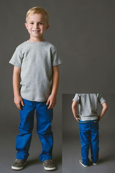 FOR BEN!!W Pants pdf sewing pattern by Blank Slate Patterns