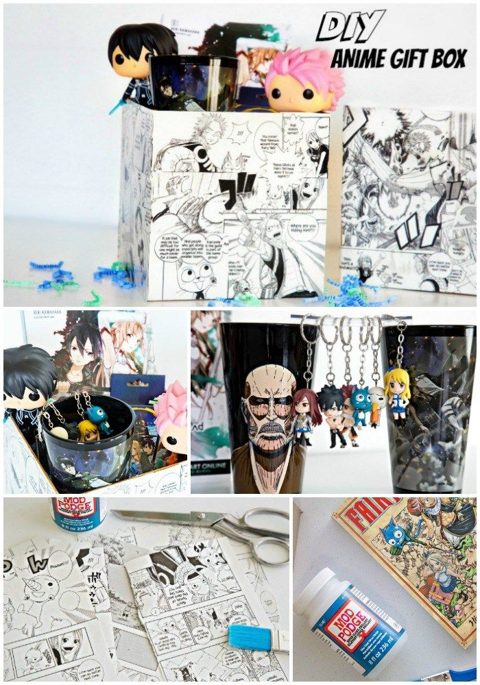 Diy Anime Gift Box Anime Gifts Otaku Gift Anime Crafts