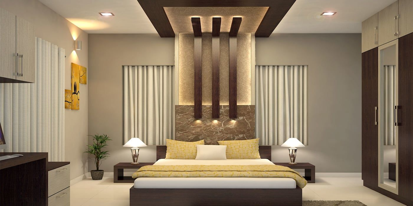 Modern style bedroom by monnaie architects & interiors ...