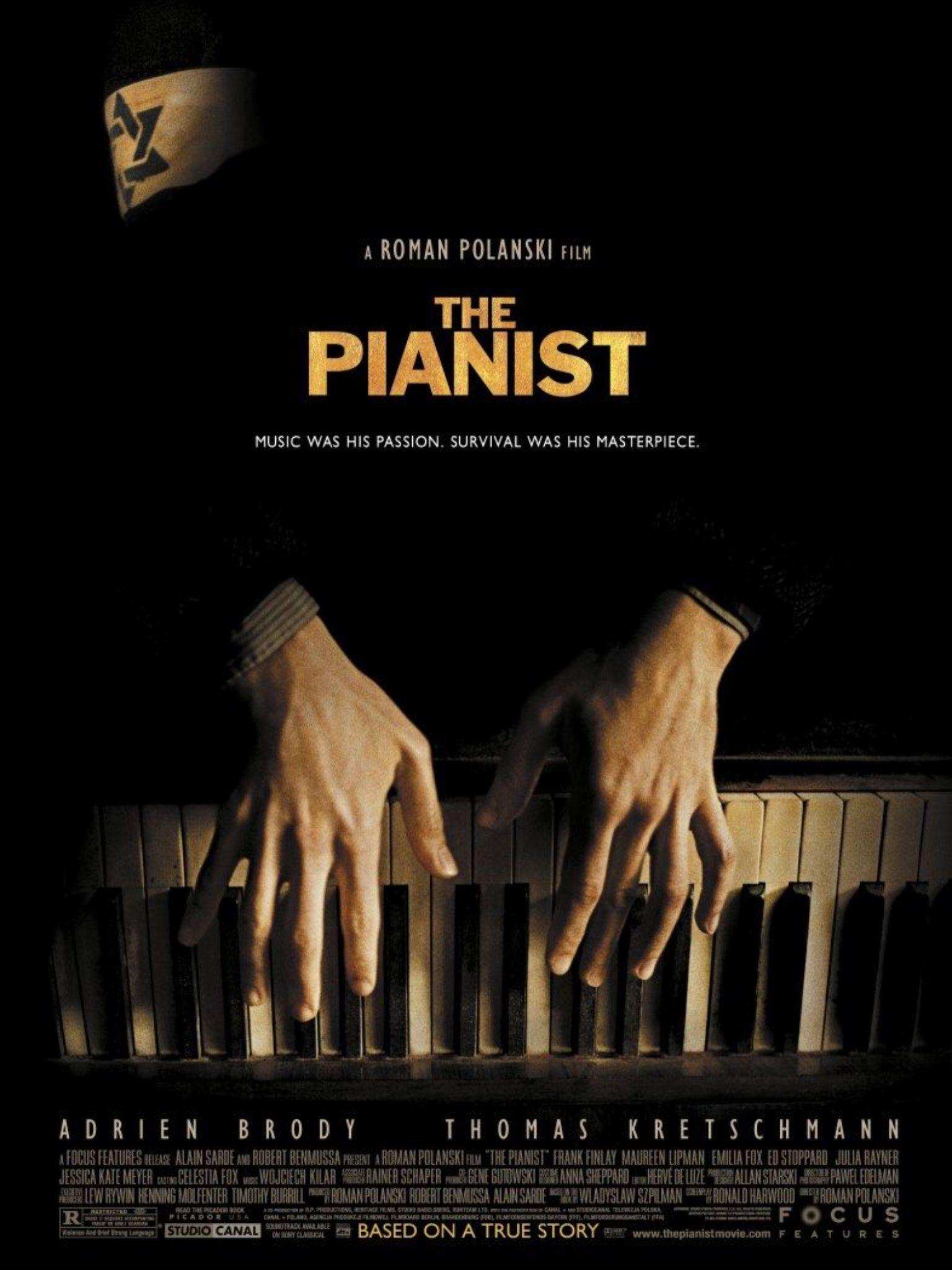 El Pianista Filmes Posteres De Filmes Cartaz De Filme