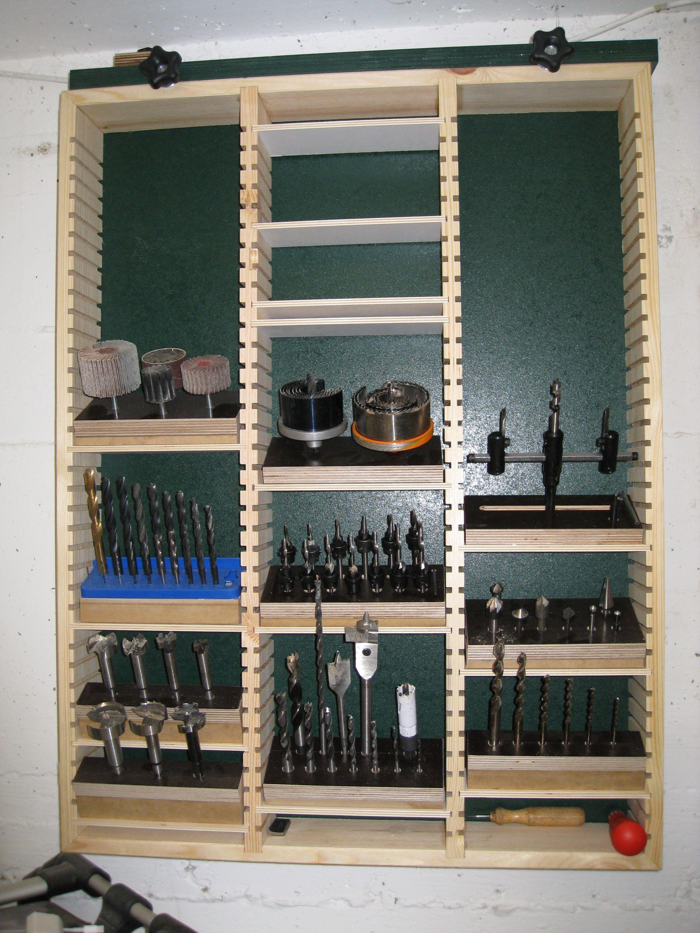 bohrerregal bauanleitung zum selber bauen heimwerker forum werkstatt pinterest. Black Bedroom Furniture Sets. Home Design Ideas