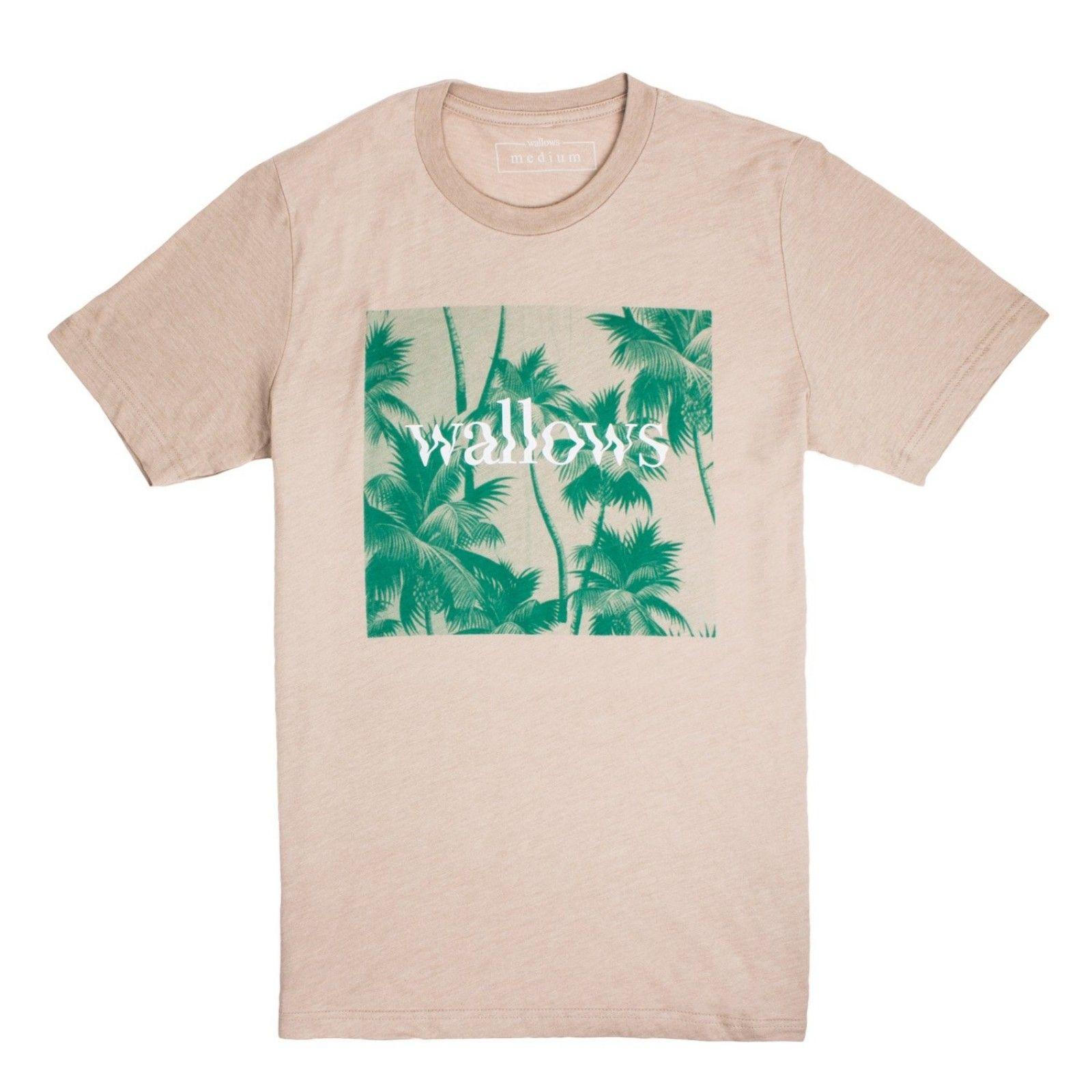 d491ac4a Wallows Palm Tree T-Shirt | Wallows in 2019 | Printed shirts, T ...