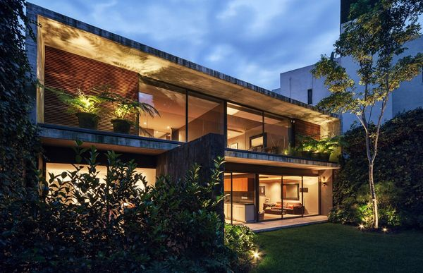 Casa Sierra Leona: Inspired Modernism In Mexico House | Home Design