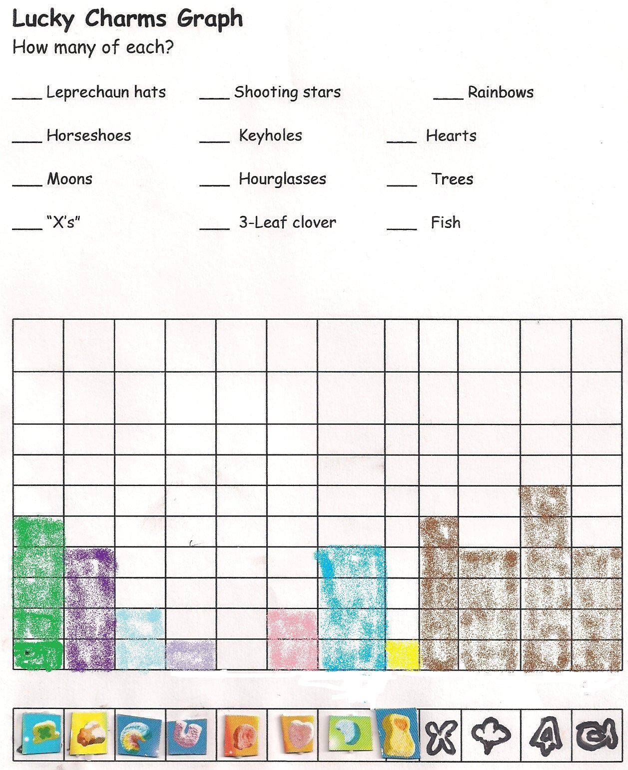 St Patrick S Day Math Puzzles For Kids Lucky Charms