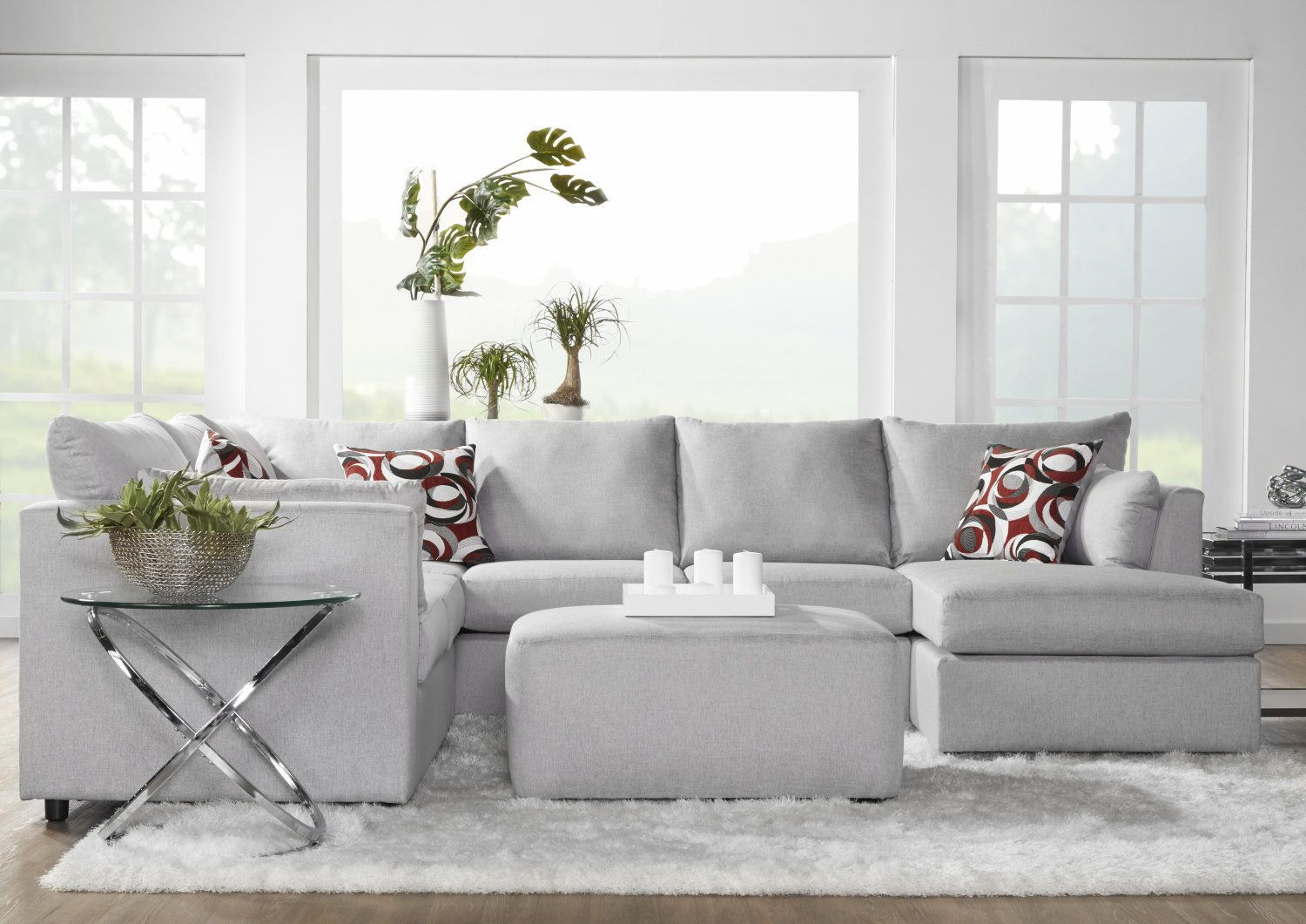 Sectionnel 3mcx Droit Corner Sofa Sectional Couch Home Decor