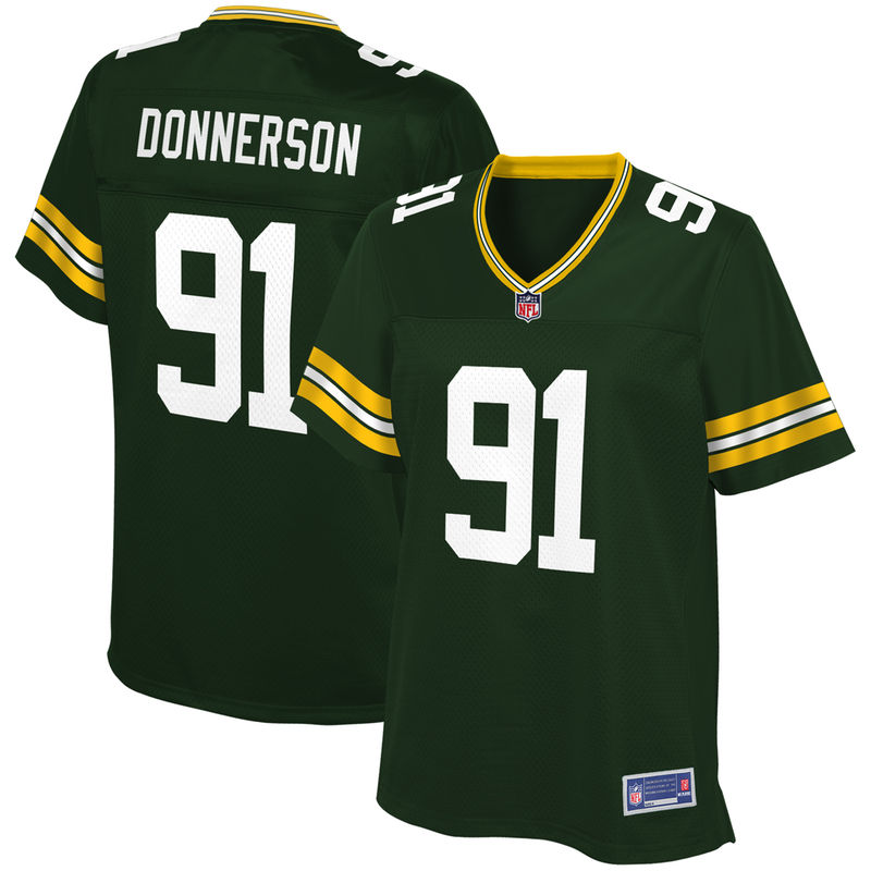 Kendall Donnerson Green Bay Packers NFL Pro Line Women s Player Jersey –  Green 0ab7cc02a