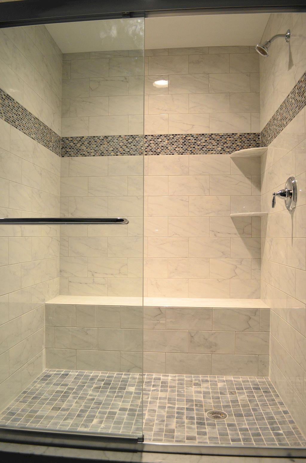 60 Adorable Master Bathroom Shower Remodel Ideas 47 Master Bathroom Shower Shower Remodel Shower Makeover