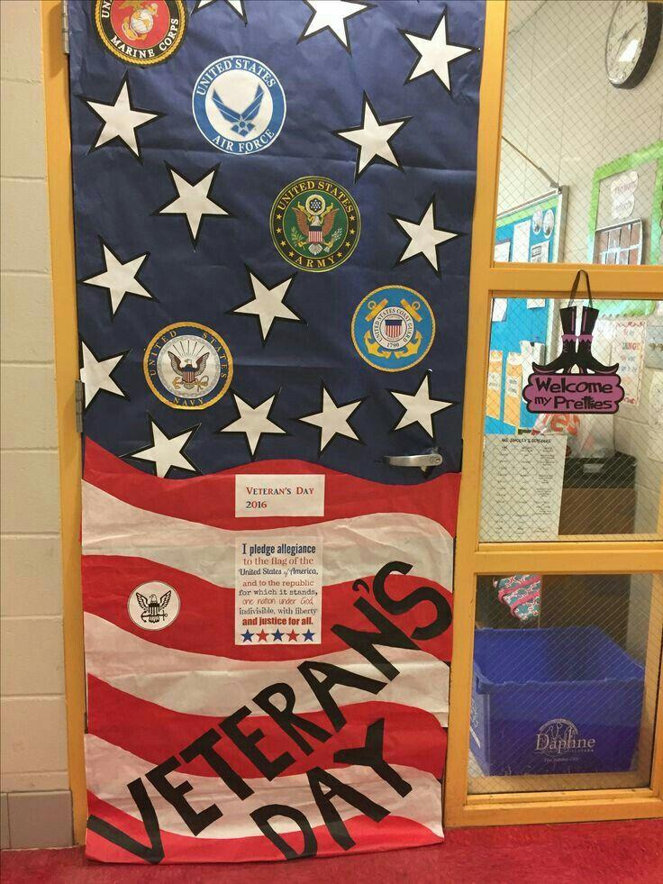 #veteransdaydecorations