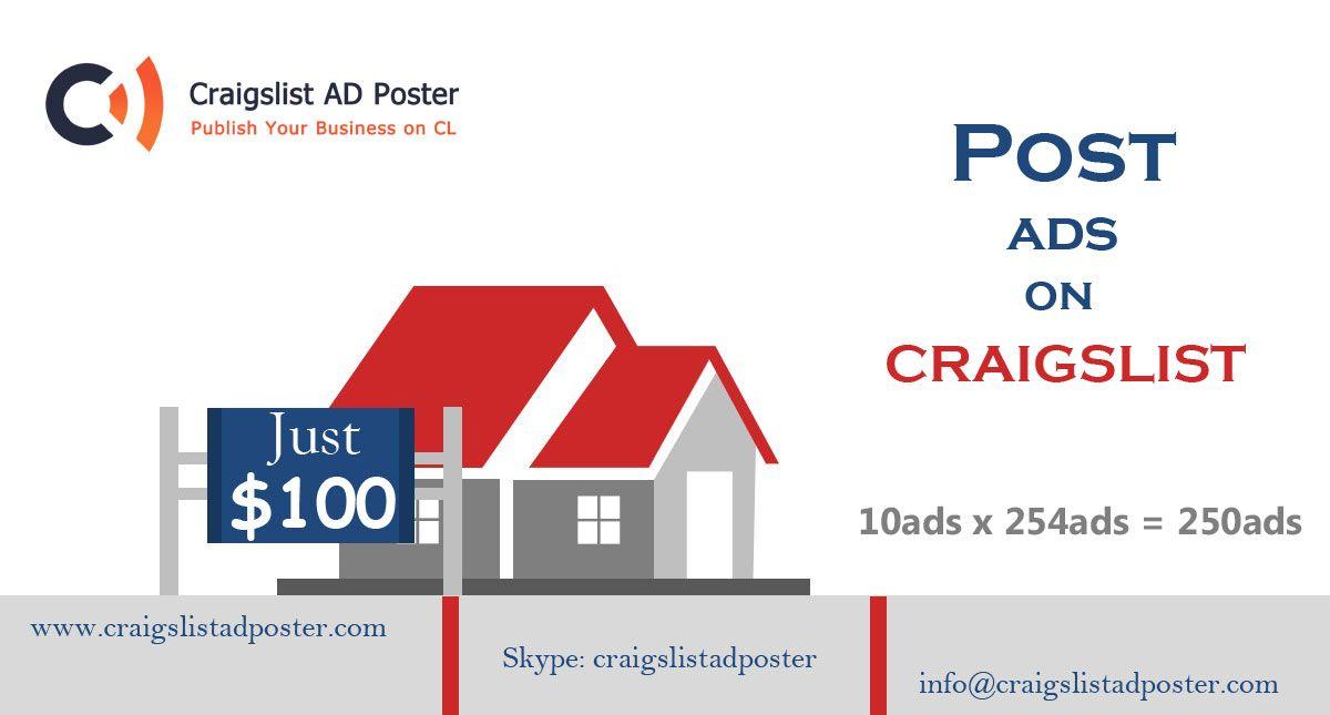 Premier craigslist posting service provider. Affordable ...