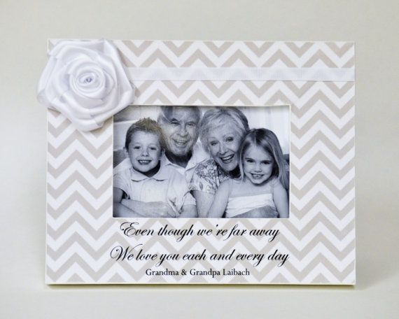 Grandparents Gift Long Distance Personalized Picture Frame Gift for ...