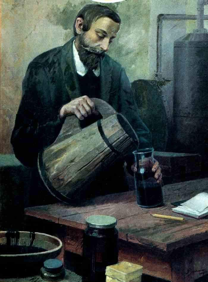 Ignacy Lukasiewicz, 19th Century Polish pharmacist who invented kerosene lamp and built world's first oil refinery