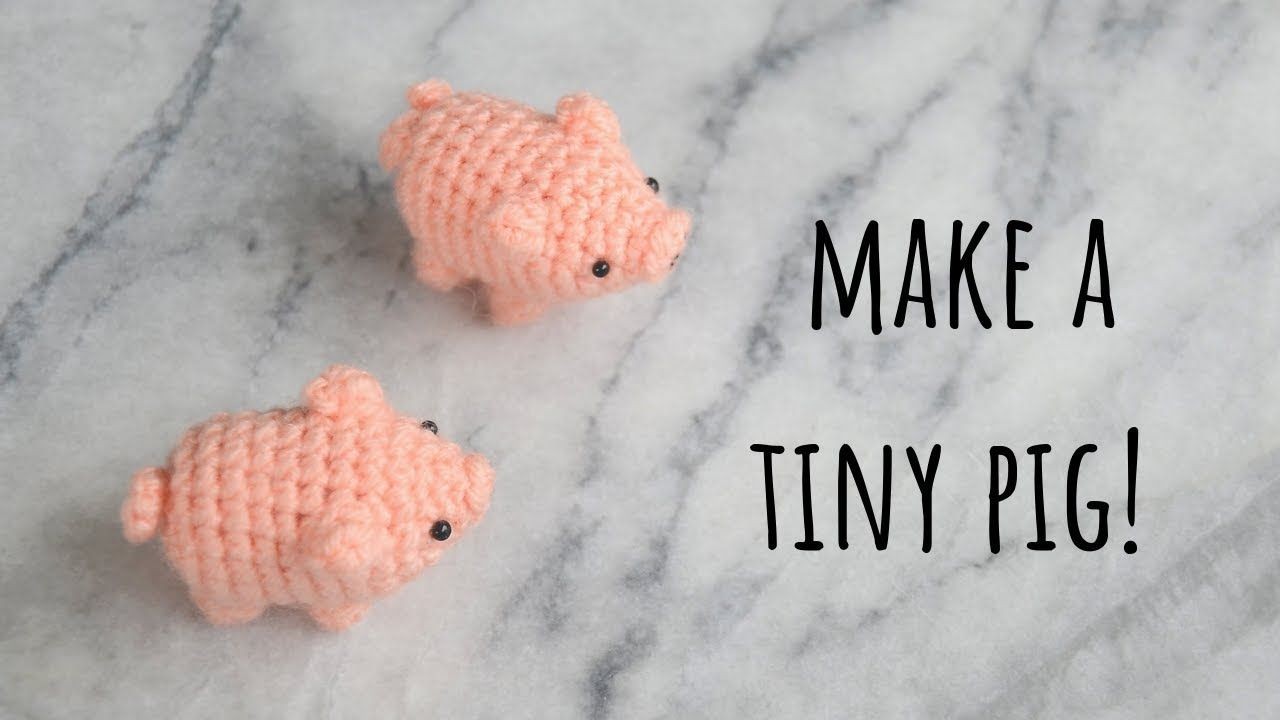 Amigurumi pug tutorial & free pattern #crochet #pig # ...
