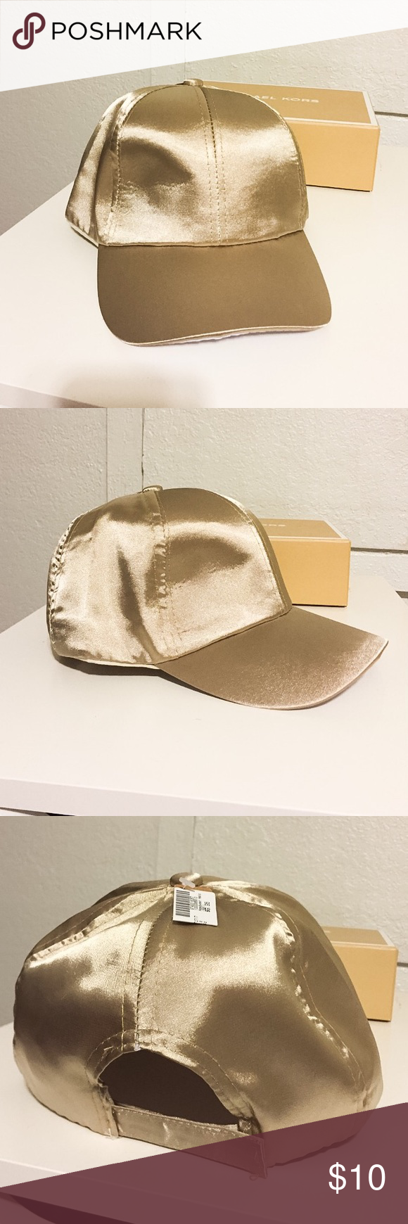 • Gold Hat • ✖️NEW. Bought online and don't plan on wearing it. An impulse buy as you can call it. Very pretty though and vet comfy. ✨💎💕 Love Culture Accessories Hats