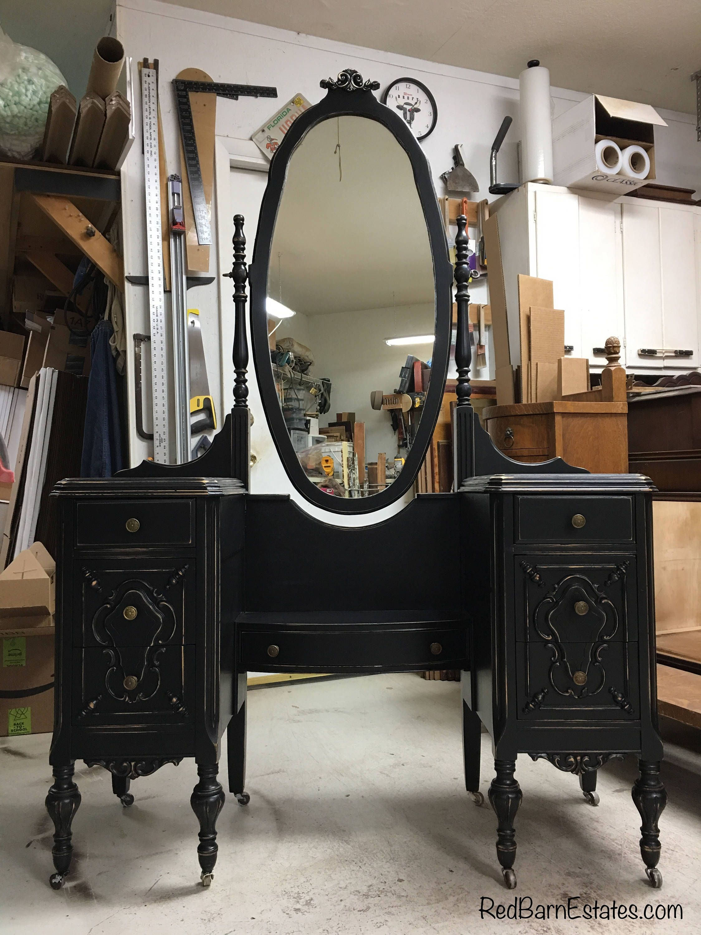 MAKEUP VANITY In Your Color! Order Your Own Antique Vanity