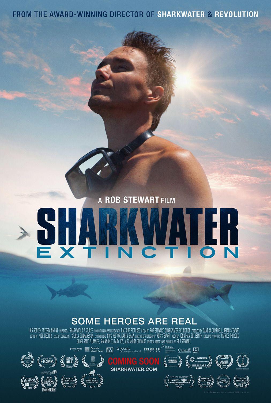 Sharkwater Extinction Poster Shark Film Extinction Film