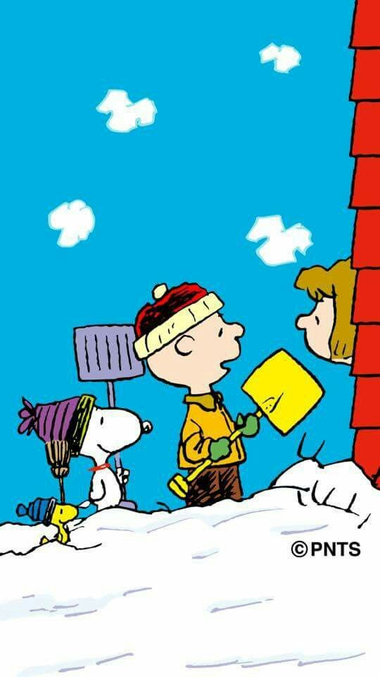 can we shovel your sidewalk charlie brown and snoopy the