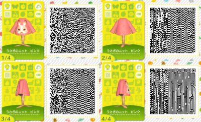 Cute QR Codes | Animal Crossing QRs: Clothing | Pinterest | Qr codes Happy Home Designer Qr Codes Miku on happy home designer art, happy home blog, happy home designer apps,