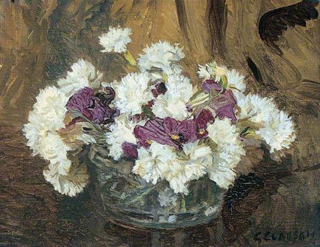 Pinks and Pansies: Sir George Clausen