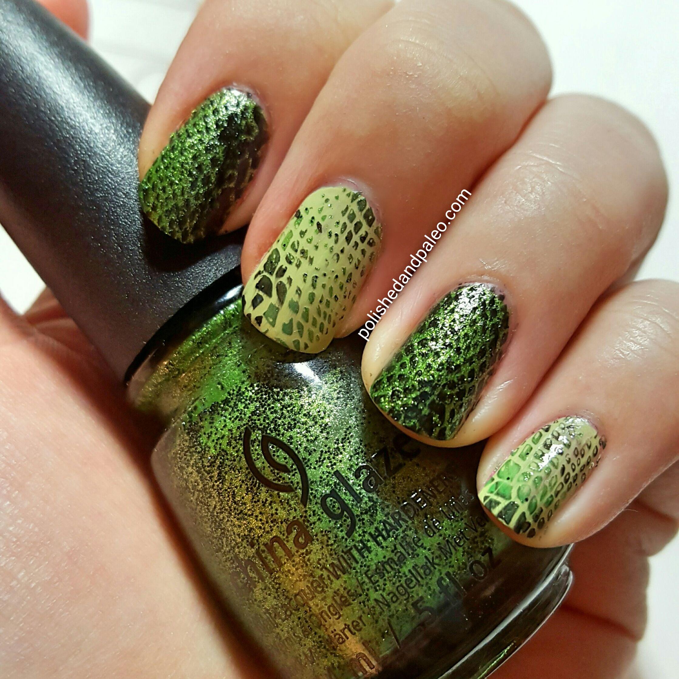 Dinosaur Nail Art | Nail Art Community Pins | Pinterest | Animal ...
