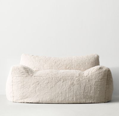 RH TEENu0027s Berlin Lounge Sherpa Chair:The Next Generation Bean Bag. Our  Collectionu0026